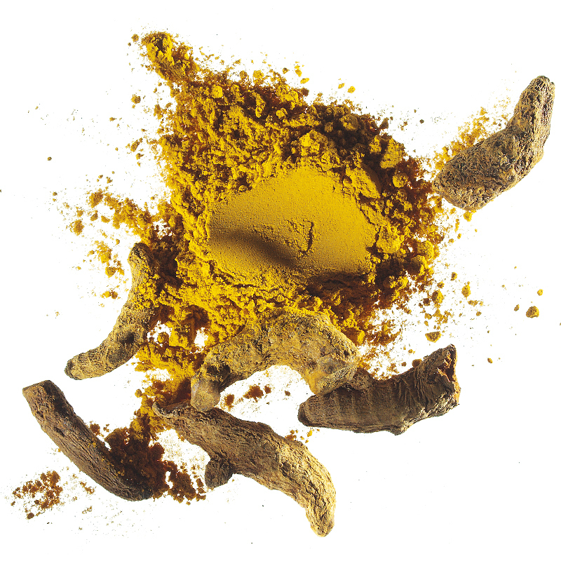 Organic turmeric powder steam Max Havelaar