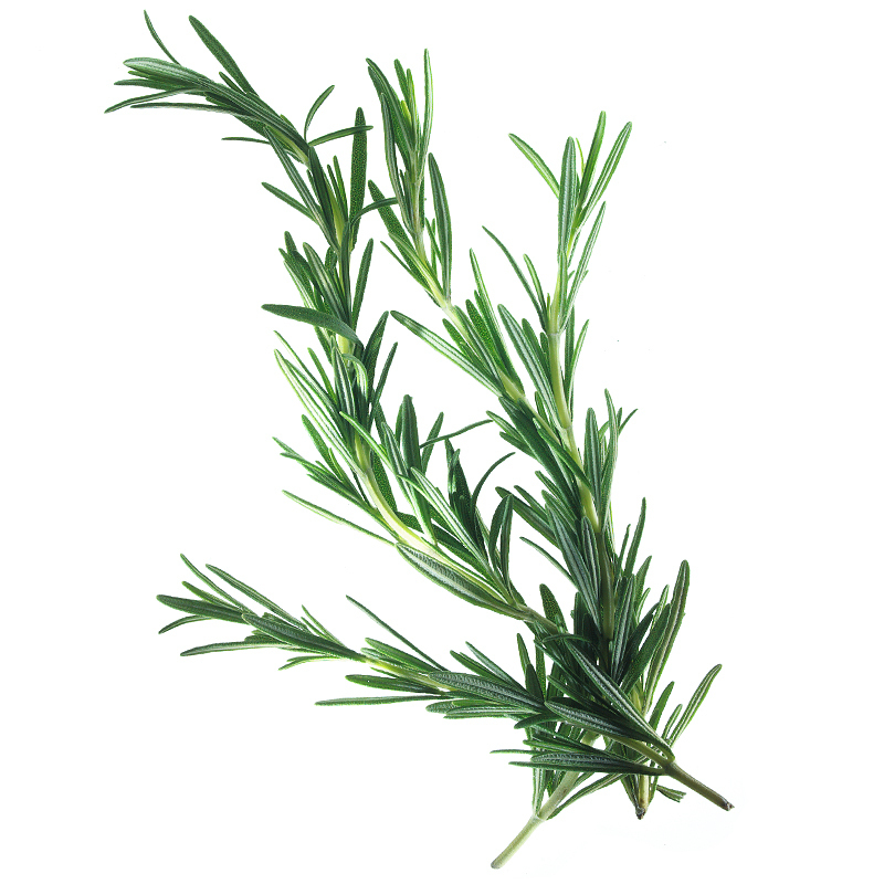 Whole rosemary leaves, cleaned